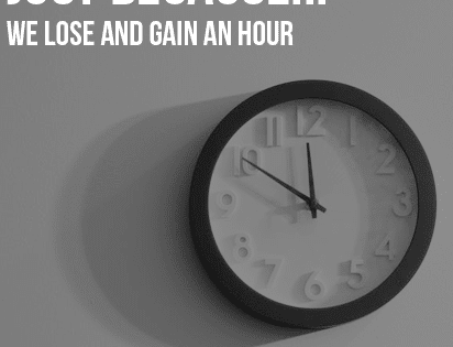Just Because…The Clocks Go Forward