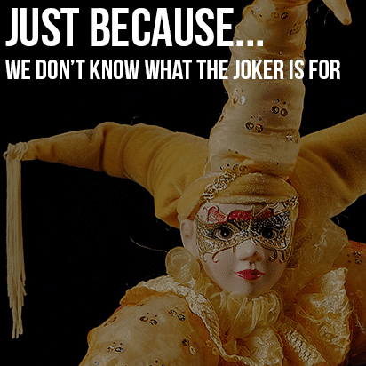 Just Because…The Joker Isn't Royalty