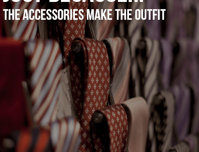 Just Because…The accessories make the outfit